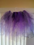 Purple Tutu with Ribbon