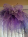 Purple Tutu with Wings