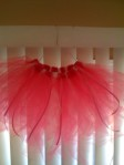 Bright Pink Tutu with Ribbons
